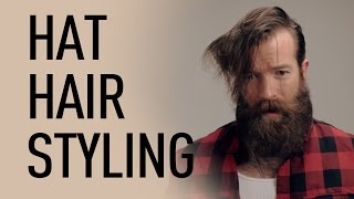 getlinkyoutube.com-Style Your Hair For Wearing a Hat | Jeff Buoncristiano