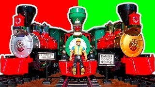 G Scale Christmas Trains Review 2014 & How To Make An Awesome Cheap Christmas Train