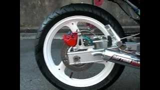 getlinkyoutube.com-旧車二輪専門店BANBAN 絶版車バイク RZ250 足回り改 2012/9/14
