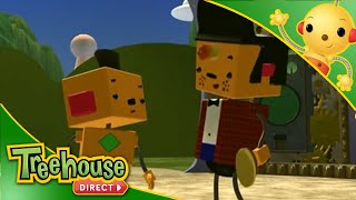 getlinkyoutube.com-Rolie Polie Olie - Chunk Sings The Blues / Cast Off / Orbs Well That Ends Well - Ep.65