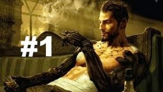 getlinkyoutube.com-Deus Ex Human Revolution - PART 1 - No Commentary Walkthrough