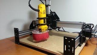 getlinkyoutube.com-Ruwan's Shapeoko 2 DIY CNC Build