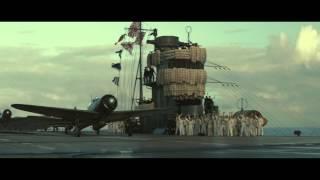 getlinkyoutube.com-映画『永遠の0』VFXメイキング(2)赤城から出撃する零戦