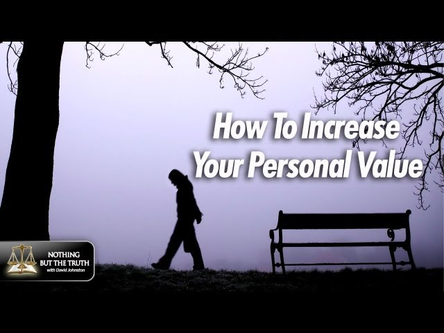 How To Increase Your Personal Value