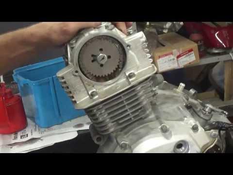 Montagem do motor YBR Factor passo a passo - Cássio mecânico