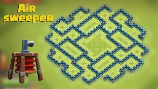 getlinkyoutube.com-Clash of clans - Town hall 8 (Th8) Farming base [The Bagua] with AIR SWEEPER