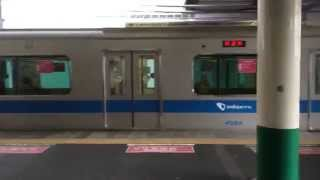 getlinkyoutube.com-【小田急4000系】常磐緩行線内試運転 柏駅 到着~発車まで