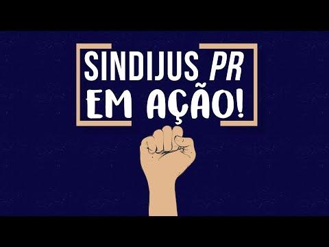 Sindijus-PR em ação!