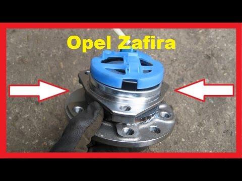 Замена подшипника передней ступицы своими руками Opel Zafira