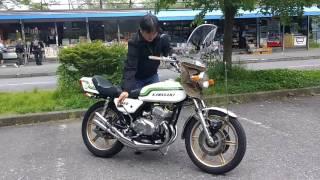 getlinkyoutube.com-250SS  kawasaki    爆竹  BEET    鉄サイレンサー  mach  KH25