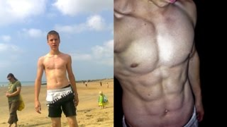 getlinkyoutube.com-17 Year Old Incredible Body Transformation! (Calisthenics) - Bar Brothers FR