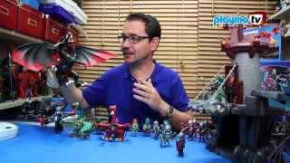 getlinkyoutube.com-PlaymoTV 3x02 - Dragones de @Playmobil