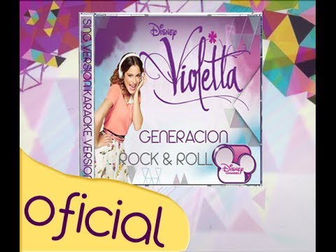Violetta-Fan CD ''Generacion Rock & Roll (Sing Y Karaoke