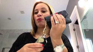 getlinkyoutube.com-Louis Vuitton Empriente Cles in Noir Review!