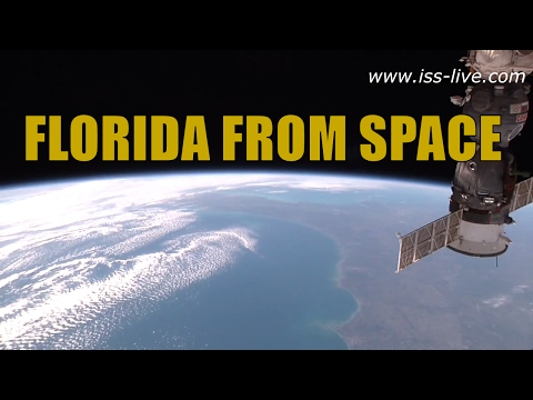 Florida from space / Earth from the ISS - The space coast seen from the International Space Station