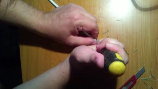 Как самому обжать интернет кабель отверткой