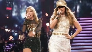 "getlinkyoutube.com-Jennifer Lopez & Taylor Swift  - ""Jenny from the Block"" live at Staples Center"