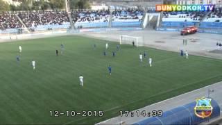 "getlinkyoutube.com-PFL-2015. Game week 25. ""Dinamo"" 1-1 ""Bunyodkor"". MATCH REVIEW"