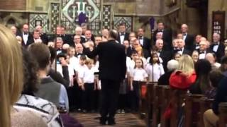 getlinkyoutube.com-Treorchy Male Choir & Albert Primary Choir You Raise Me Up