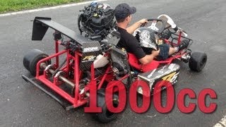 getlinkyoutube.com-1000cc Kart - LOUD ENGINE SOUND!