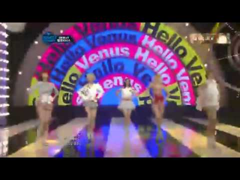 120510 Hello Venus - Venus @ M! Countdown