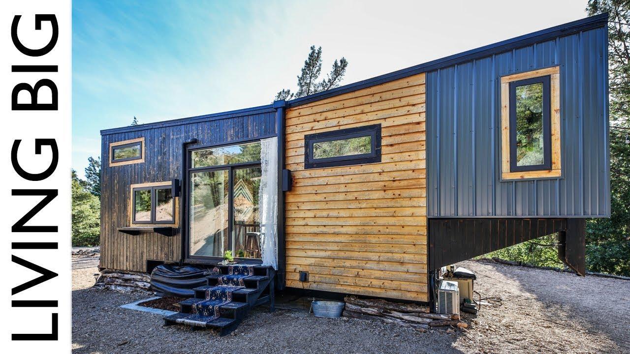 Absolutely Stunning Modern Luxury Tiny House
