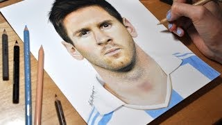 getlinkyoutube.com-Drawing Lionel Messi