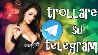 getlinkyoutube.com-ALLA FINE L'HA USCITO?!! - TROLLARE PERSONE RANDOM SU TELEGRAM