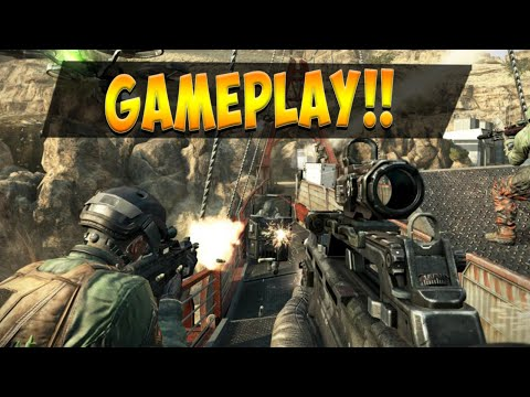 BLACK OPS 2 GAMEPLAY #3 - Quick/Dragscoping w/ DSR 50 on Yemen - MULTIPLAYER REVEAL