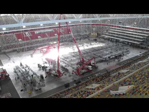 Eurovision Song Contest 2011: Building The Stage