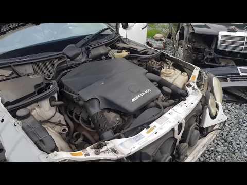 Двигатель+акпп на Mercedes-Benz M113 AMG