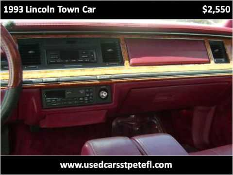 1993 Lincoln Town Car Problems, Online Manuals and Repair ...