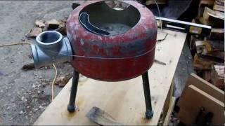 getlinkyoutube.com-Rocket stove pt 3