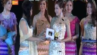getlinkyoutube.com-Best Dress Award Wyne Su Khine Thein