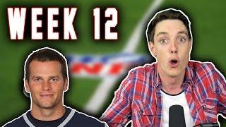 getlinkyoutube.com-TOM BRADY'S GOING TO DIE?!?! - LazarBeam Predicts NFL Week 12! ( NFL News and Predictions)