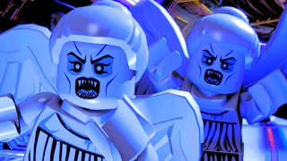 getlinkyoutube.com-LEGO Dimensions Escape The Possessed Weeping Angel Statues