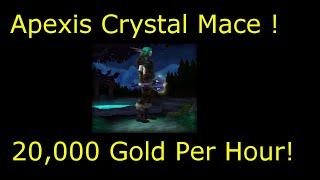 getlinkyoutube.com-WoW 6.2: 20k gold/hr transmog farm ( Apexis Crystal Mace ) WoD gold farm guide