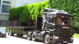 getlinkyoutube.com-tamiya scana R620 with a ian sparks trailer