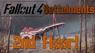 getlinkyoutube.com-Fallout 4 Settlement #2 - 2nd Floor!