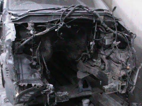 Toyota Town Ace Noah тойота таун айс ноах Переделка свап с 2WD на 4WD с дизеля на бензин Часть 1