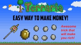 getlinkyoutube.com-Terraria ios 1.2 | Easy way to make Money