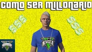 GTA V Online: Como ser millonario rapidamente de forma LEGAL y SIN TRUCOS
