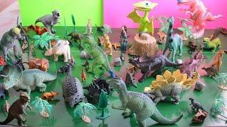 getlinkyoutube.com-Dinosaur toy collection - Dinosaur train toys, Safari Ltd., and other dinosaur toys for children