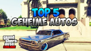 getlinkyoutube.com-GTA 5 Online: TOP 5 GEHEIME AUTOS   RARE CAR LOCATION   Deutsch
