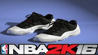 getlinkyoutube.com-NBA 2K16 Shoe Creator - Jordan 11 Low Tuxedo ⋆#NBA2K16⋆