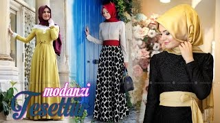 getlinkyoutube.com-Modanisa 2016 Gamze Polat Tesettür Elbise Modelleri (Foto Galeri) | Modanzi Tesettür