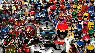 getlinkyoutube.com-Tokusatsu Taisen (Riders vs Metal Heroes vs Rangers)