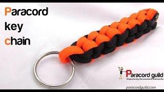 getlinkyoutube.com-How to make a box knot paracord keychain