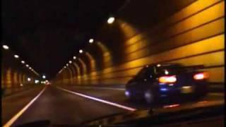 "getlinkyoutube.com-Wangan Street Racing over 300kmh - Like ""street"" Drift!"