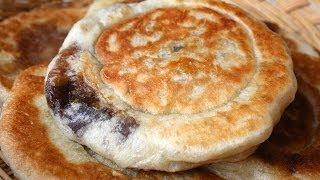 getlinkyoutube.com-Sweet pancakes (Hotteok: 호떡)